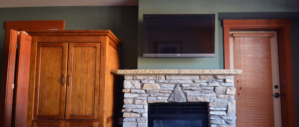 Fireplace Flat Panel TV Mount