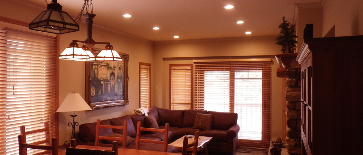 LED Recessed Overhead Lighting