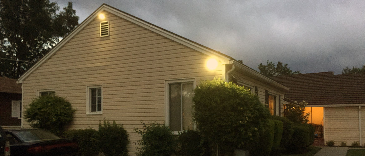 Exterior Solar LED Lighting